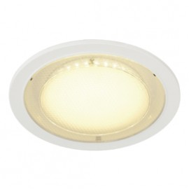 SLV 160281 Eco LED Round 7.5W 3000K White Downlight