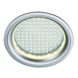 SLV 160381 LEDpanel Round 8W 6500K Silver Grey Downlight