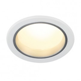 SLV 160421 LED Downlight 14/3 8W 3000K White Light