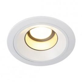SLV 160541 LEDdisk Horn DL 12W 2700K White Downlight