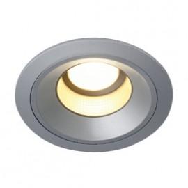 SLV 160544 LEDdisk Horn DL 12W 2700K Silver Grey Downlight