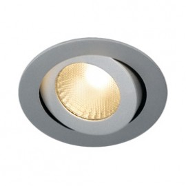 SLV 160624 Boost Turno 9W LED 3000K Silver Grey Downlight