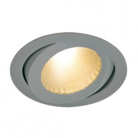 SLV 160644 Boost B Turno 13W LED 3000K Silver Grey Downlight