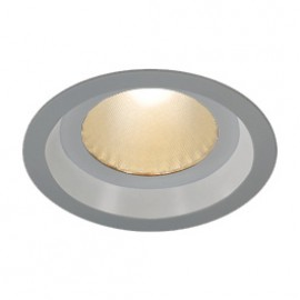 SLV 160654 Boost B IP44 13W LED 3000K Silver Grey Downlight