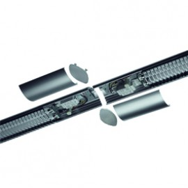 SLV 160812 Connector Set For Hang Up Silver Grey