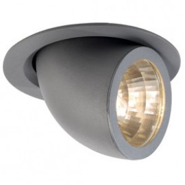 SLV 162024 Gimble Pro G12 150W Silver Grey Downlight