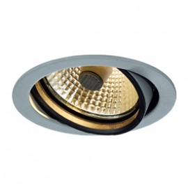 SLV 162154 Beret G12 150W Silver Grey Downlight