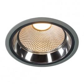 SLV 162404 LED Downlight Pro R 12W 2700K Silver Grey Light