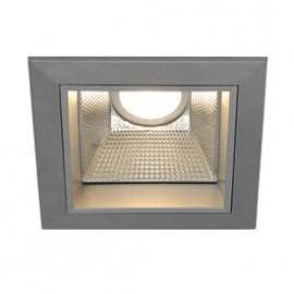 SLV 162424 LED Downlight Pro S Warm White Silver Grey Light