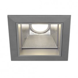 SLV 162434 LED Downlight Pro S 11W 4000K Silver Grey Light