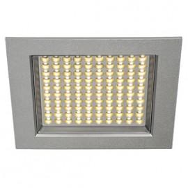 SLV 162484 LEDPanel 100 SMD 6.5W 3000K Silver Grey Recessed Ceiling Light