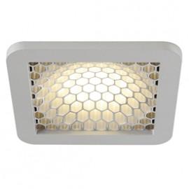 SLV 162604 Skalux Comb LED 18.7W 3000K Silver Grey Recessed Ceiling Light