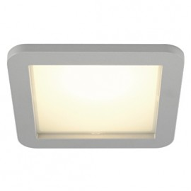 SLV 162614 Skalux LED 18.7W 3000K Silver Grey Recessed Ceiling Light