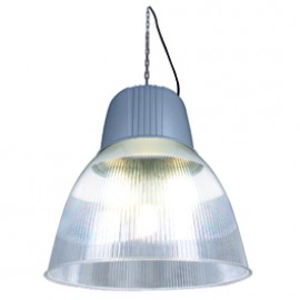 SLV 165140 Para Dome 2 HIE 250W Silver Grey Hi Bay Suspended Ceiling Light
