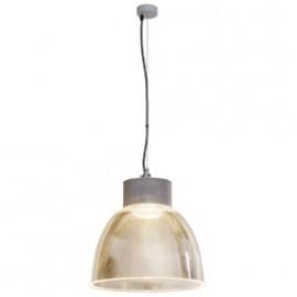 SLV 165212 Para Multi DLMi LED 15W 3000K Silver Grey Hi Bay Suspended Ceiling Light