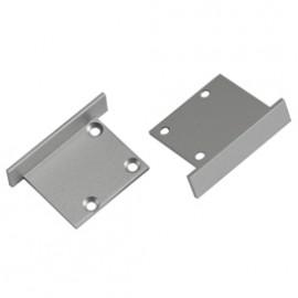 SLV 213414 End Caps For Downunder Aluminium Profile Silver Grey