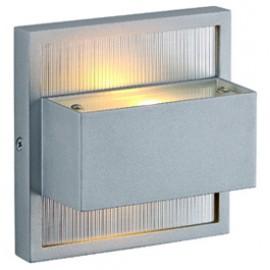 SLV 227262 Dacu Up-Down LED 2x1W 2700K Silver Grey Wall Light
