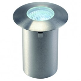 SLV 227471 Trail-Light Faceted LED 0.3W 9000K Stainless Steel Outdoor Wall & Ground Light