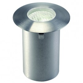SLV 227472 Trail-Light Faceted LED 0.3W 3000K Stainless Steel Outdoor Wall & Ground Light