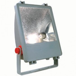 SLV 229002 SXL HIT-DE Floodlight 150W Silver grey Outdoor Ceiling, Wall & Floor Floodlight