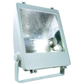 SLV 229012 SXL HIT Floodlight 400W Silver Grey Outdoor Wall & Floor Floodlight