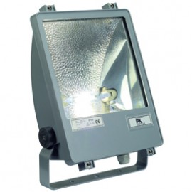 SLV 229044 SXL HIT-DE 70W Silver Grey Outdoor Ceiling, Wall & Floor Floodlight