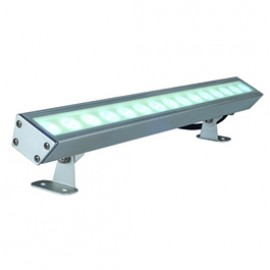 SLV 229461 Galen LED Profile 15W 6500K Anodised Aluminium Outdoor Ceiling, Wall & Ground Floodlight