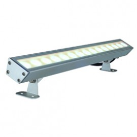 SLV 229462 Galen LED Profile 15W 3000K Anodised Aluminium Outdoor Ceiling, Wall & Ground Floodlight