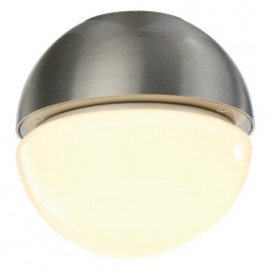 SLV 229876 Arcolos Bowl 11W Brushed Aluminium Outdoor Ceiling & Wall Light