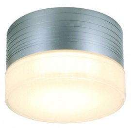 SLV 229912 Micro Flat 9W Silver Grey Ceiling & Wall Light
