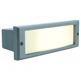 SLV 230415 Alda 18W Stone Grey Outdoor Wall Light