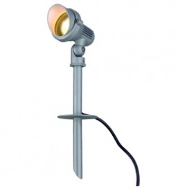 SLV 230545 Easylite Spike GU10 50W Stone Grey Outdoor Ground Light