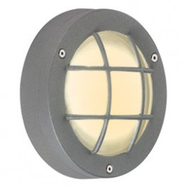 SLV 230822 Delsin LED 1.5W 3000K Stone Grey Outdoor Ceiling & Wall Light