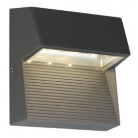 SLV 230872 LED Downunder Square 3W 3000K Anthracite Outdoor Wall Light