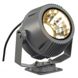 SLV 231082 Flac Beam LED 15W 3000K Stone Grey Outdoor Ceiling, Wall & Floor Floodlight