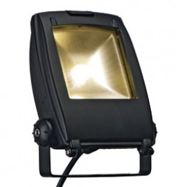 SLV 231152 LED Flood Light 10W 3500K Black Outdoor Ceiling, Wall & Floor Light