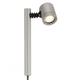 SLV 233174 New Myra 1 LED 4.5W Silver Grey Lamphead
