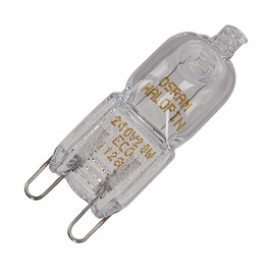 SLV 519450 Osram Halopin Eco G9 20W Energy Saving Halogen Lamp