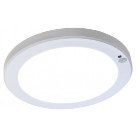 Small LED Bulkhead Downlight / Cabinet Light WITH PIR Motion Sensor 10-18W 4000K LED WHITE