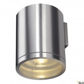 SLV 1000333 ROX WALL OUT, QPAR11, Outdoor Wall luminaire, alu brushed, max. 50W, IP44