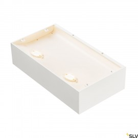 SLV 1000423 SHELL 30, WL, LED Indoor surface-mounted wall light, 3000K, white
