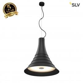 SLV 1000435 BATO 45 PD, LED Indoor pendant light, black, LED, 2700K