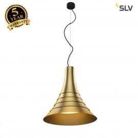SLV 1000440 BATO 45 PD, LED Indoor pendant light, brass, LED, 2500K