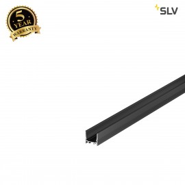 SLV 1000510 GRAZIA 20 LED Surface profile, standard, grooved, 1m, black