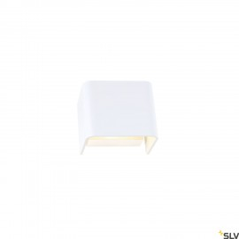 SLV 1000618 MANA shade 12, aluminium, white
