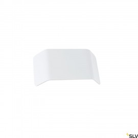 SLV 1000628 MANA shade 27, aluminium, white