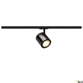 SLV 1000712 ENOLA_C LED Spot for 1Phase High-voltage Tracksystem, 3000K, black, 55°, incl. 1 Phase adapter