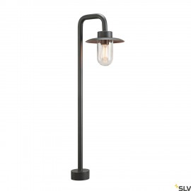 SLV 1000822 MOLAT POLE, Outdoor standing light, IP44, E27, anthracite, max. 60W
