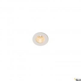 INTALITE 1000914 TRITON MINI LED Recessed ceiling luminaire, white, 3000K, 12°