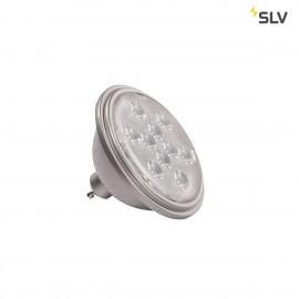 SLV 1000940 LED QPAR111 GU10 Bulb, 13°, silvergrey, 4000K, 730lm